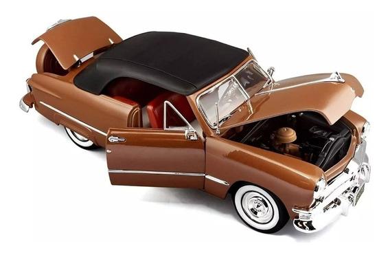 Miniatura Ford 1950 Marrom Escala 1:18 Marca Maisto- Novo