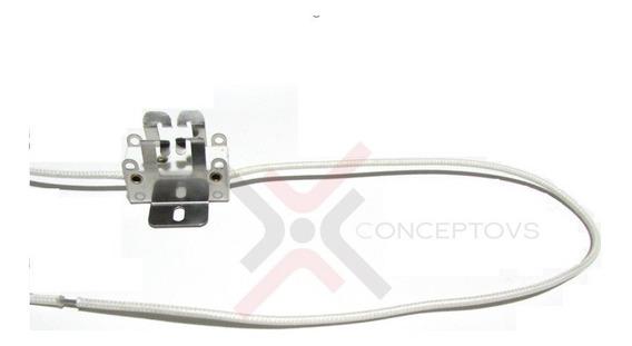 Socket Gz9.5 Gy9.5 Base De Foco Lampara Cable Asbesto