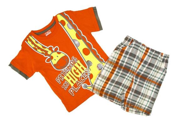 Conjunto Playera Y Short Para Niño En Oferta 6549