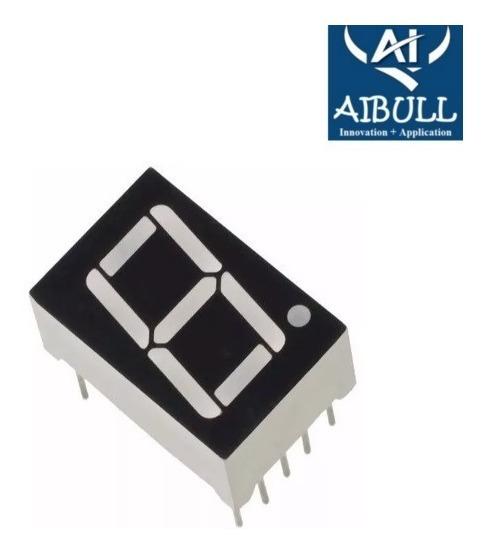 Display 7 Segmentos Vermelho D168k P/ Arduino, Pic, Nodemcu