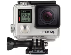 Câmera Digital Gopro Hero 4 Silver 12mp Wifi Bluetooth 4k