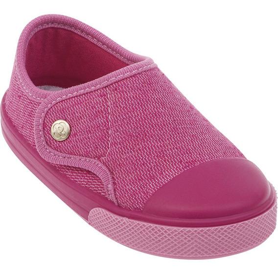 Tênis Sapato Infantil Menina Rosa Pimpolho