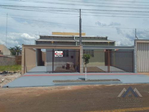 Imagem 1 de 13 de Casa Com 3 Dormitórios À Venda, 80 M² Por R$ 215.000,00 - Jardim Montecatini - Londrina/pr - Ca0453