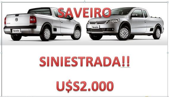 Saveiro, Nafta Año 2010 Volcada / Precio De U$s 2.000