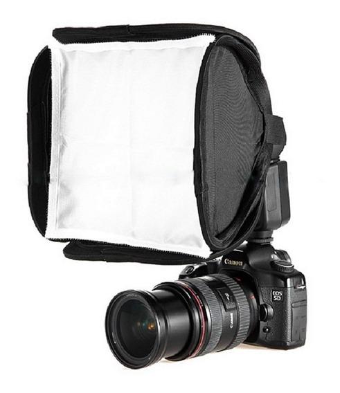 Mini Softbox 23x23 Para Flash Speedlight Canon Nikon Sony