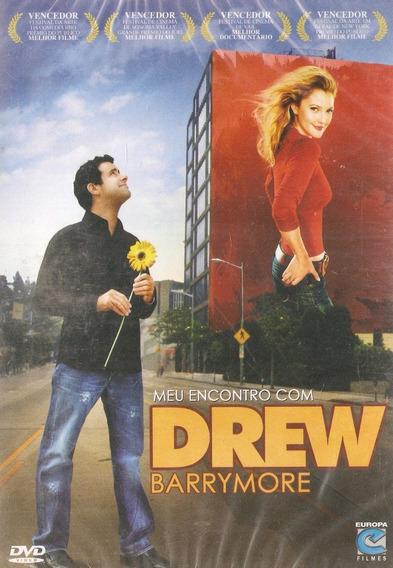 Dvd Meu Encontro Com Drew Barrymore - Novo Lacrado***