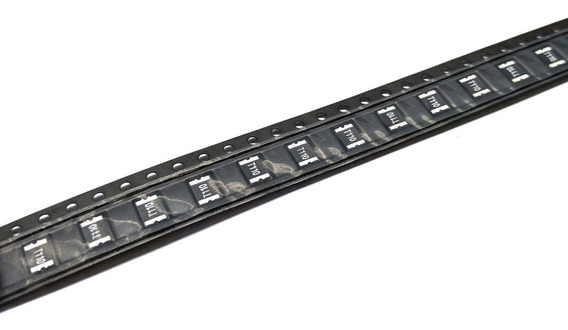 50pc Polyfuse Fusível Resetável Rearmável Pptc 1.1a P110 8v