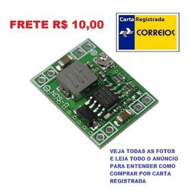 Kit 2 Mini Regulador Dc Lm2596 Step Down 3a Frete R$ 10,00