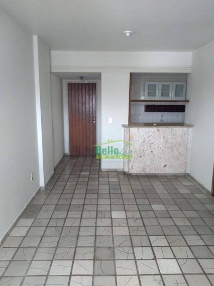 Apartamento Para Alugar, 65 M² Por R$ 1.133,28/mês - Torre - Recife/pe - Ap3223