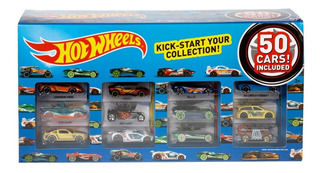 Hot Wheels, Paquete De 50 Autos