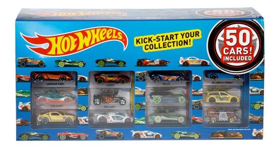 Hot Wheels, Paquete De 50 Autos