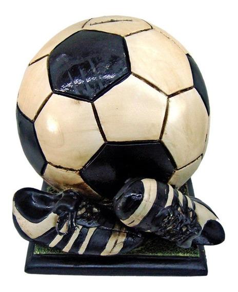 Cofre Bola Futebol Chuteira Resina Quarto Menino Camisa Fifa