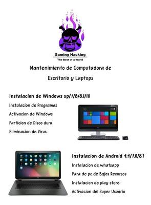 Servicio Técnico De Pc Y Laptops