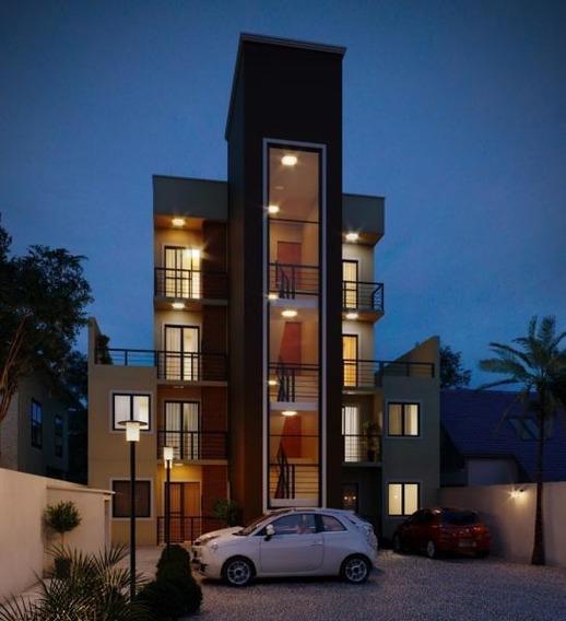 Apartamento Para Venda Em São José Dos Pinhais, Boneca Do Iguaçu, 3 Dormitórios, 1 Banheiro - 406-g
