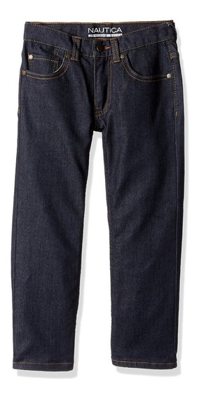Nautica Five Pocket Straight Fit Pantalón Niño Talla 4