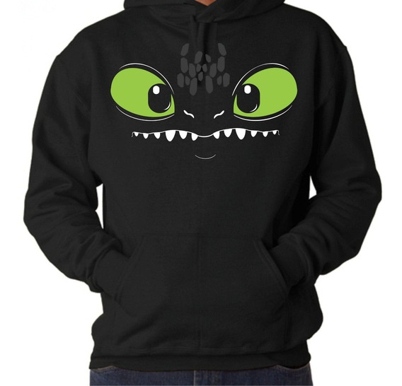Sudadera Chimuelo Toothless White Fury Furia Luminosa