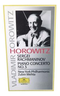 Horowitz Rachmaninoff Concierto No. 3 New York Philharmonic