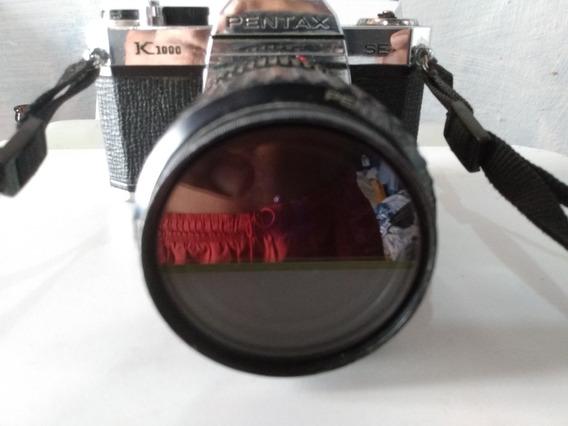 Câmera Pentax Com Lente 28 -80mm