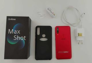 Zenfone Max Shot 64gb/4gb Ram Usado - Em Perfeito Estado