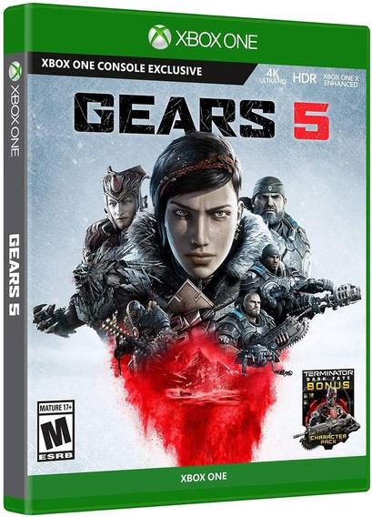 Gears 5 - Xbox One - Midia Fisica!