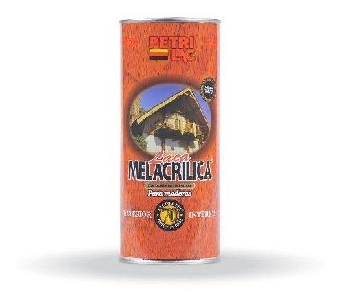 Laca Melacrilica Ext/int Doble Filtro 1lt - 18 Cuotas S/int