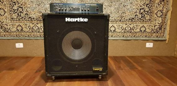 Half Stack Hartke Systems, Cabeçote 3500 350 W + Caixa 1x15