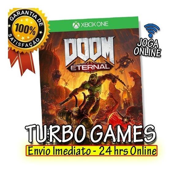 Doom Eternal Deluxe Edition Xbox One + Brinde
