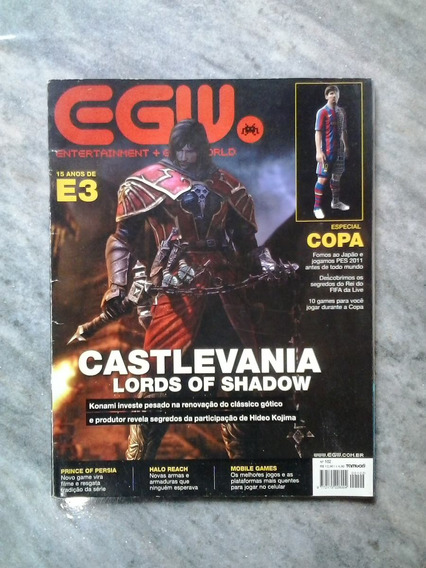 Egw - Nº.102 Castlevania: Lords Of Shadow