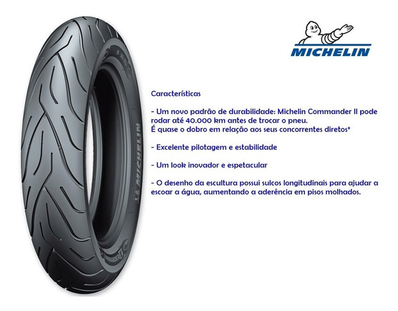 Pneu Michelin Commander 2 80/90-21 54h Harley/ Vulcan/shadow