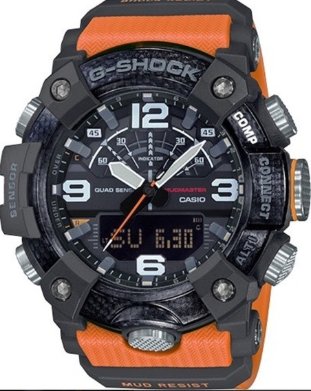 Relogio Casio G-shock Master Of G Mudmaster Carbon
