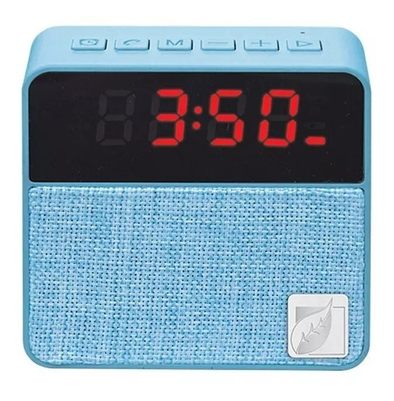 Reloj Despertador Bocina 18 9121