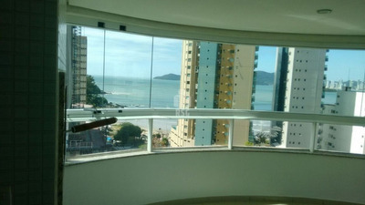 Apartamento 3 Suítes, Mobiliado Com Linda Vista Para O Mar - 299