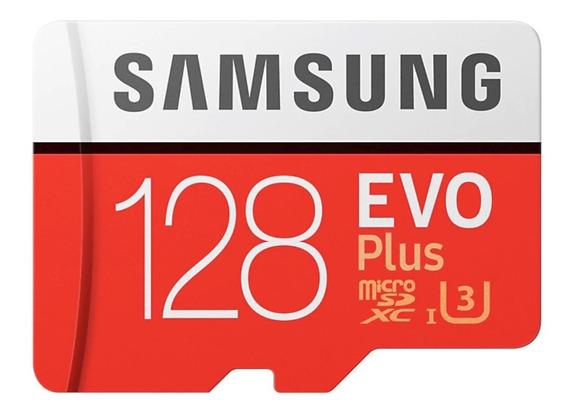 Cartão Samsung Micro Sdxc Evo 128gb 100mb/s U3 Sd Original