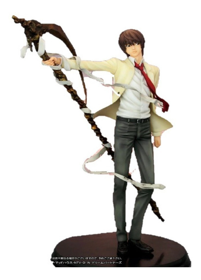 Action Figure Estátua Death Note Light Yagami 25cm Top