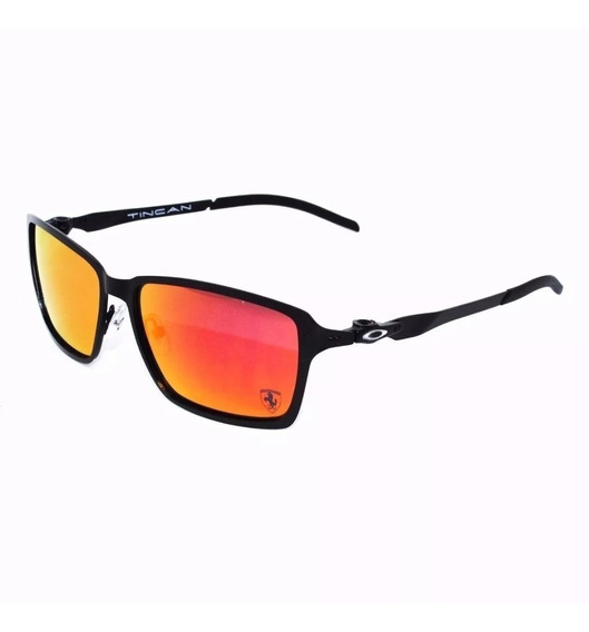 Oculos De Sol Tincan Metal Ferrari Preto Red Polarizado 12x