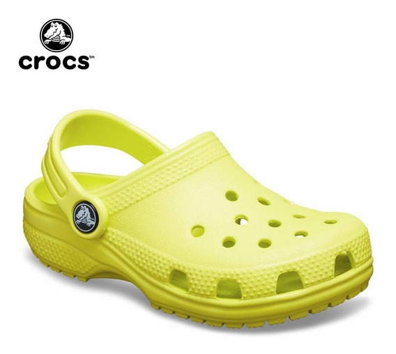 Crocs Kids Originales Niños Clasicas Citrus