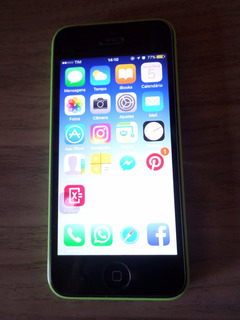 iPhone 5c- Desbloqueado- Original 8gb