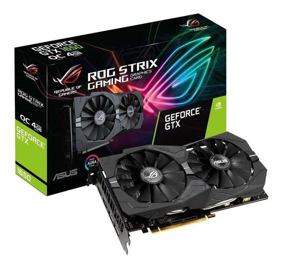 Placa de video Nvidia Asus GeForce GTX 16 Series GTX 1650 ROG-STRIX-GTX1650-4G-GAMING 4GB