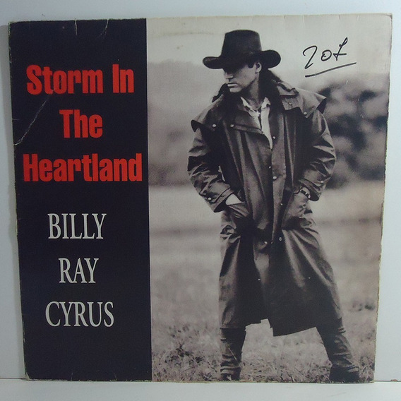 Billy Ray Cyrus 1994 Storm In The Heatland Lp Single