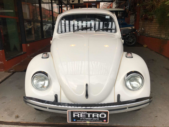 Volkswagen Fusca 1600 1986 Garagem Retrô