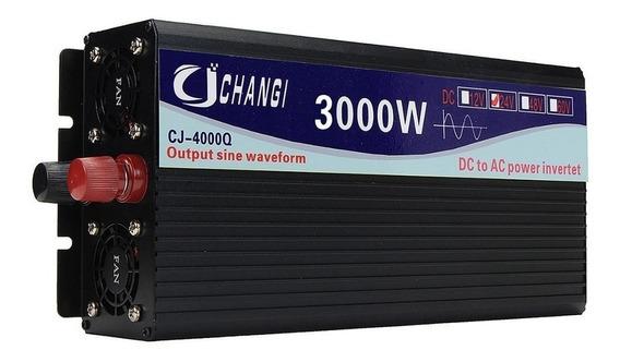 Inversor 1500w 3000w Pico Senoidal Pura 12 Volts 220 Volts