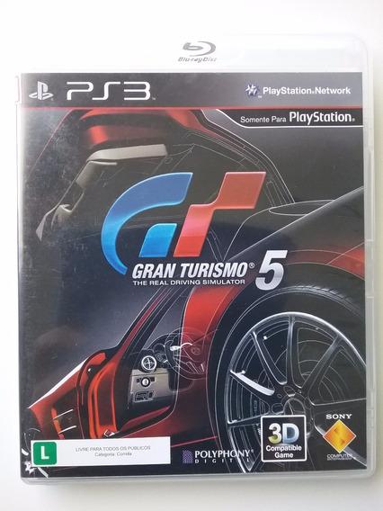 Gran Turismo 5 Para Ps3 Mídia Física Original Usado