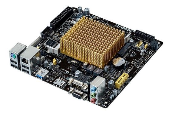Placa Mae Asus Com Processador J1800i-c/br Hdmi Dual Core