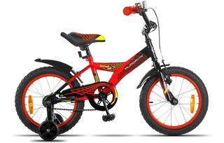 Bicicleta Aurorita Infantil Rodado 16 Spider *ahora 12/18*