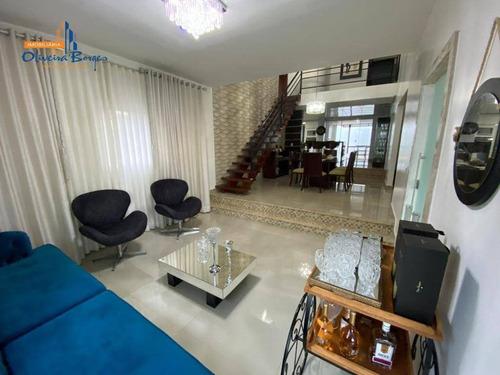 Sobrado Com 4 Dormitórios À Venda, 330 M² Por R$ 800.000 - Residencial Rose S Garden - Anápolis/go - So0170