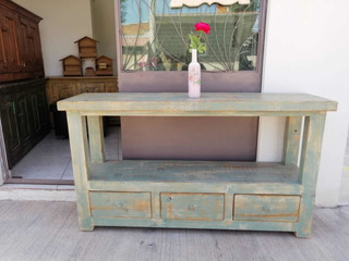 Muebles Vintage Color Verde