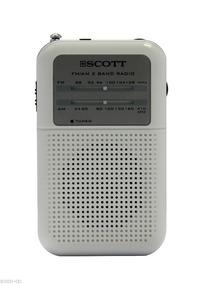 Rádio Portátil Scott Rx8 Am Fm Compacto C/ Alto Falante