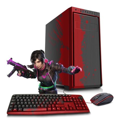 Pc Hogar Gamer Cpu Amd A8 9600 Ddr4 8gb Ssd 240gb