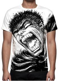 Camiseta, Anime Berserk Guts Mod 01 - Estampa Total
