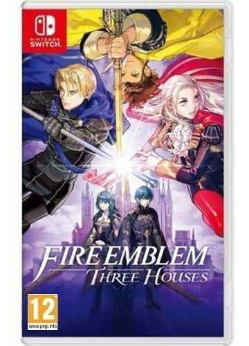 Jogo Nintendo Switch Fire Emblem: Three Houses Mídia Física